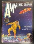 Amazing Stories Feb 1931 Morey Cover