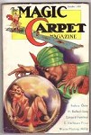 Magic Carpet Oct 1933 Brundage bondage Cvr; H. B. Jones; Miller; Quinn; Paul Ernst