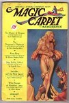 Magic Carpet January 1933 V1 #1 Wild Cover