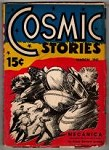 Cosmic Stories Mar 1941 Leo Morey Cvr; First issue; Isaac Asimov