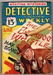 Detective Fiction Weekly Dec 07, 1935 Cornell Woolrich; Max Brand