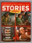 Stories Annual 1955 FIRST ISSUE Hascal Giles, M.E. Chaber, T.W. Ford