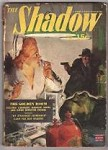 The Shadow  Jul 1943  Nurse at Gunpoint Cover Art