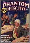 Phantom Detective  Nov 1937  Hard to find Issue Tommy Gun Cvr