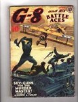 G-8 Battle Aces Jan 1940 Blakeslee; Gould; Greaseball Joe; Hogan