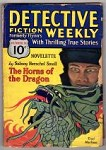 Detective Fiction Weekly Oct 31, 1931 Oriental villain Cvr, George A. England