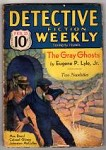 Detective Fiction Weekly Feb 25, 1933 Masked Bandits cvr, Max Brand, McCulley