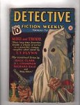 Detective Fiction Weekly Dec 2, 1939 KKK Like Cvr