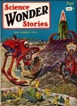 Science Wonder Stories Sep 1929 Frank R. Paul Cvr; Philip Francis Nowlan