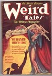 Weird Tales Mar 1937 Brundage Cover; Bloch; Binder; Wellman; Lovecraft; Hamilton
