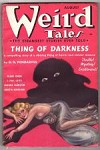 Weird Tales Aug 1937 Brundage Cvr; Robert E. Howard; Kuttner; Wellman; Lovecraft