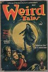 Weird Tales May 1944 Brundage Cvr; Ray Bradbury; Robert Bloch; Wellman