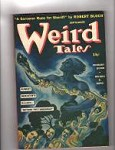 Weird Tales Sep 1941 Brundage Cover.; Quinn; Bloch; Derleth
