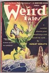 Weird Tales Mar 1944 Ray Bradbury, Derleth- trail of Cthulhu, Quinn, Wellman, Long