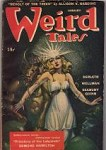 Weird Tales Jan 1945 Margaret Brundage Cvr; Ray Bradbury; Quinn; Wellman; Derleth