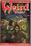 Weird Tales Jul 1946 Matt Fox Cvr; Ray Bradbury; Seabury Quinn; MW Wellman