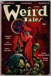 Weird Tales Mar 1948 Lee Brown Coye Cvr; Ray Bradbury; MW Wellman; CA Smith; Bloch