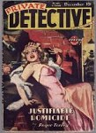 Private Detective Dec 1945 H.J. Ward Cvr, Ray Cummings, Roger Torrey