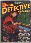 Dime Detective Feb 1942 Cornell Woolrich basis for  Hitchcock's Rear Window DeSoto Cvr