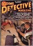 Dime Detective Oct 1936  Race Williams, Carroll John Daly, John K. Butler