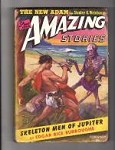 Amazing Stories Feb 1943 Edgar Rice Burroughs J. Allen St John Cvr, Robert Bloch,