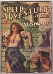 Speed Adventure Jul 1943 H.J. Ward GGA Cvr Art; Lew Merrill; Clayton Maxwell