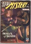 Speed Mystery May 1943 Classic GG Ward Cvr; Vera Ray comic by Watt Dell