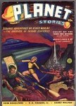 Planet Stories Summer 1940 John Russell Fearn, Ray Cummings Frank Paul