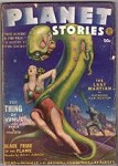 Planet Stories Spring 1942 Leydenfrost Cvr, Fredric Brown, Asimov,