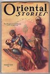 Oriental Stories Summer 1932 Brundage Cvr, August Derleth, Clark Ashton Smith