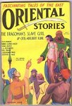 Oriental Stories Winter 1932 Adelbert Kline, Paul Ernst, E Hoffman Price