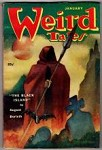 Weird Tales Jan 1952 Jon Arfstrom Cvr; August Derleth; Robert Bloch