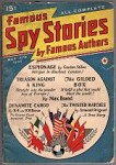 Famous Spy Stories Mar 1940 Max Brand - 2 stories!