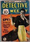 Detective Fiction Weekly Jan 12 1935 Max Brand