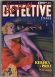 Spicy Detective Nov 1936 Wild GGA HJ Ward Cover Art