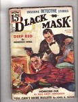Black Mask Aug 1936 WT Ballard; John Drew Cover Art