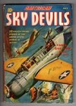 American Sky Devils Jul 1942 First Issue; Saunders Cvr Art; Allen K. Echols