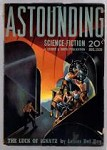 Astounding Aug 1939 Finlay; Robert Heinlein 1st SF published