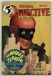 Nickel Detective Mar 1933 SCARCE; Cover art by Lungren