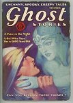 Ghost Stories Nov 1930 Female Specter Chokes Man Cvr Art