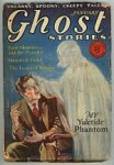 Ghost Stories Jan 1929 Female Specter Cvr Art; Victor Rousseau