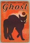 Ghost Stories Jan 1932 1st pub Carl Jacobi; Leech Cvr Art of Black Cat