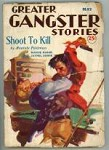 Greater Gangster Stories May 1934 Billiards Cover Art by Lovell; SCARCE