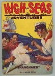 High Seas Adventures Dec 1931 FIRST; Pirates v.s. Sailor Cvr art by Riesenberg