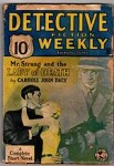 Detective Fiction Weekly Jun 1 1935 Tommy Gun Cover