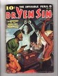 Dr. Yen Sin Sep-Oct 1936 Bondage/Torture Cover Art by Jerome Rozen