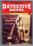 Complete Detective Novel Dec 1931