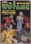 The Mysterious Wu Fang Mar 1936 FINAL issue; Classic Bondage/Torture GG Cvr