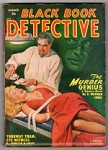 Black Book Detective Summer 1950 Johnston McCulley, GGA Bondage Cover