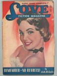 Love Fiction Magazine Dec 1948 Ruth McCaslin